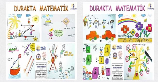 Öğreciler durakta matematik öğrenecek