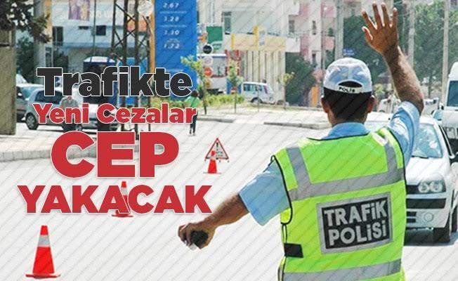 Trafikte yeni düzenleme
