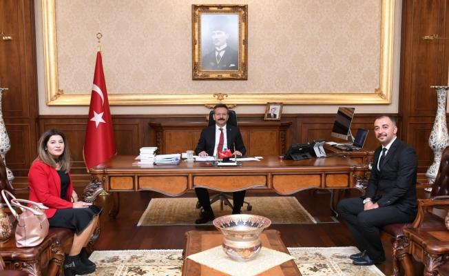 Türkiye Disleksi Vakfı Kocaeli Yönetimi, Vali Aksoy'u Ziyaret Etti