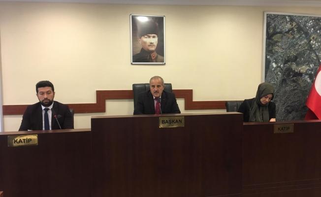 Çayırova'da bu yılın son meclisi yapıldı