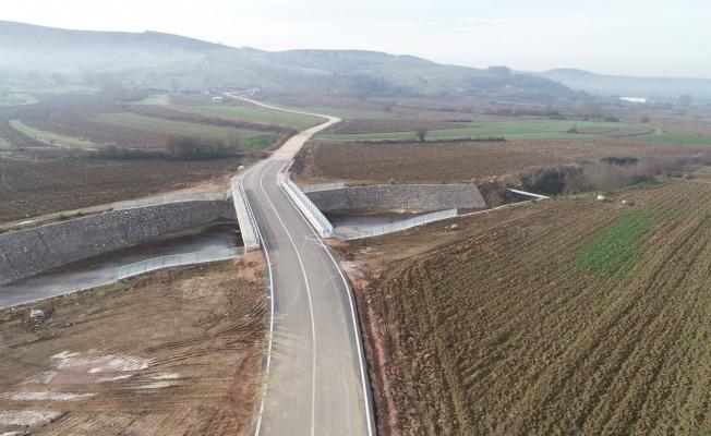 Çıraklı – Çavuşlu köprüsü hizmete açıldı