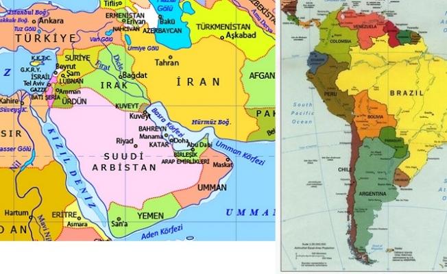 Latin Amerika mutlu, Ortadoğu mutsuz!