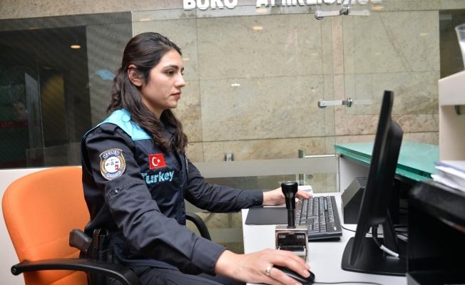 Pasaport Polislerine Özel Tasarım Yelek