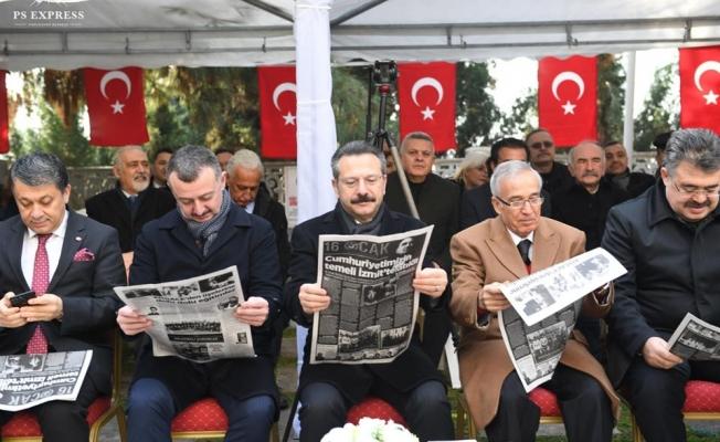 16 Ocak Basın Onur Günü kutlandı