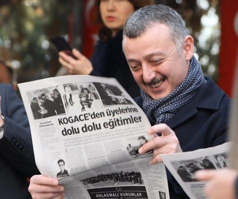 Başkan Büyükakın, '16 Ocak, Kocaeli basını için onur günüdür!'