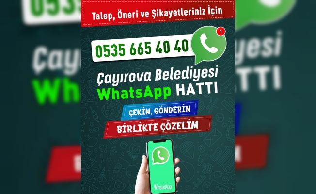 Çayırova#039;da Sorunlar Whatsappile çözülüyor!