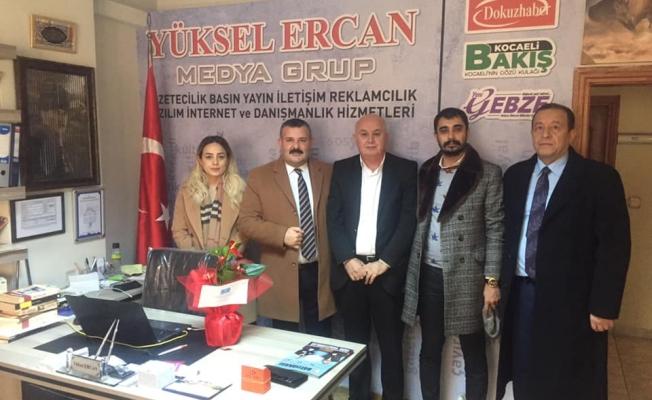 İYİ Parti Gebze'den gazetemize ziyaret!