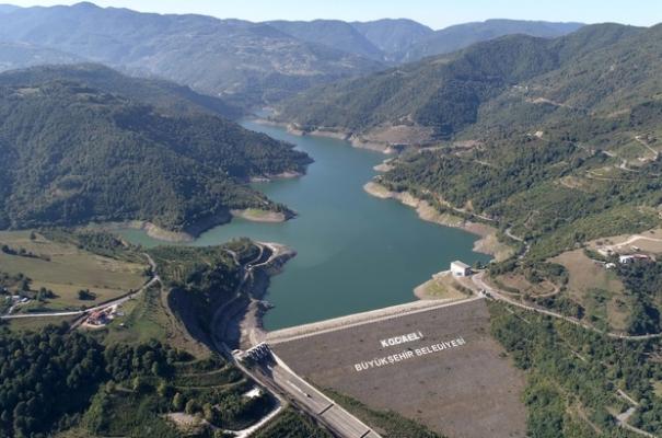 Yuvacık'ta su seviyesi yüzde 33