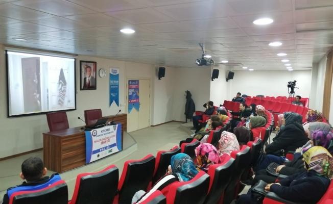 Annelere 'Teknoloji ve Madde Bağımlılığı eğitimi'