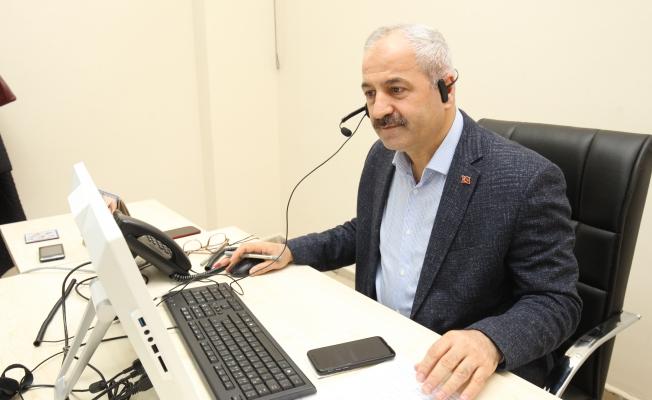 Başkan vatandaşla sürpriz telefonla görüştü