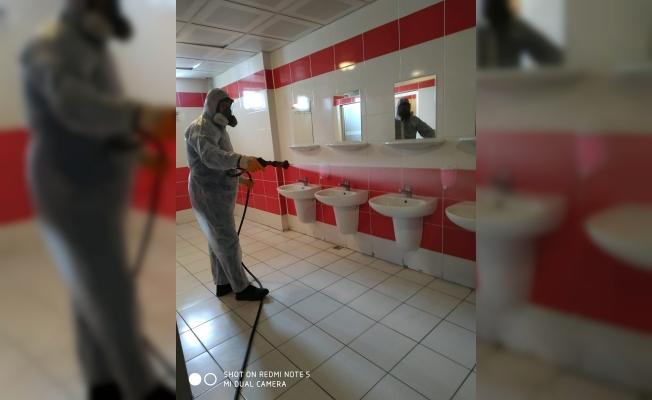 Gebze okullarında ilaçlama tamamlandı