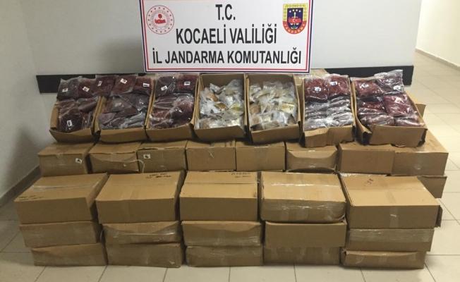 Jandarma Kaçak Nargile Tütünü Ele geçirdi: 2 gözaltı