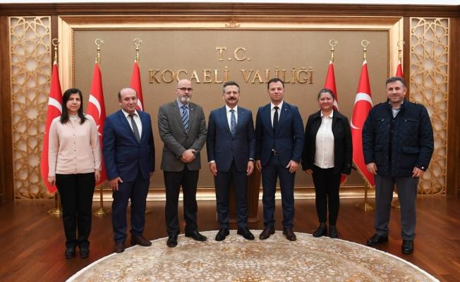Ziraat Mühendisleri Vali Aksoy'u Ziyaret Etti