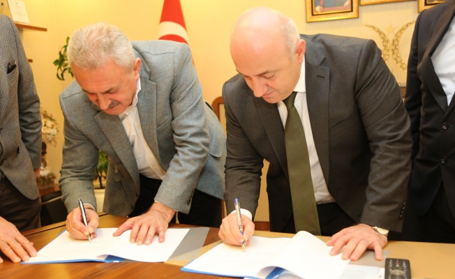 Bıyık ve Çiler, protokolü imzaladı