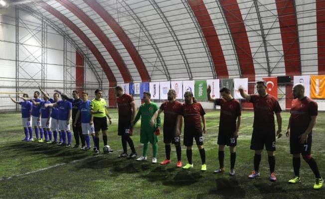 GOSB'da  Futbol Turnuvası