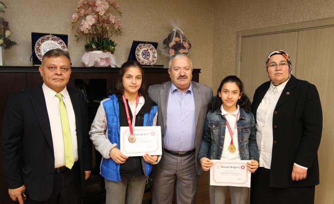 Şampiyonlardan Gebze Belediyesine teşekkür ziyareti