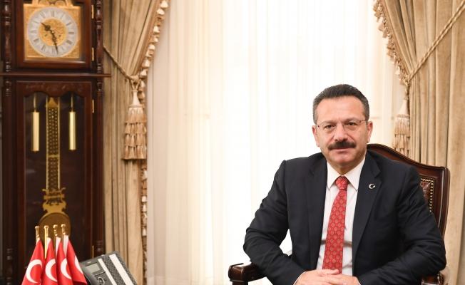 Vali Aksoy,  Türk Polis Teşkilatı Günü ve Haftasını  Kutladı