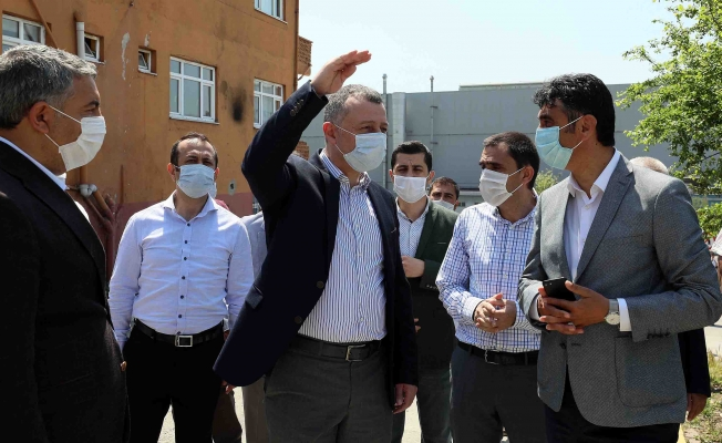 Başkan Büyükakın, Dilovası ve Darıca'daki projeleri inceledi