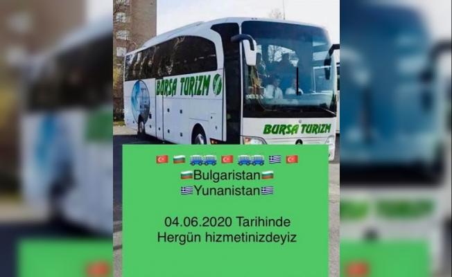 Bursa Turizm, Balkanlar'a seferlere tekrar başlıyor!
