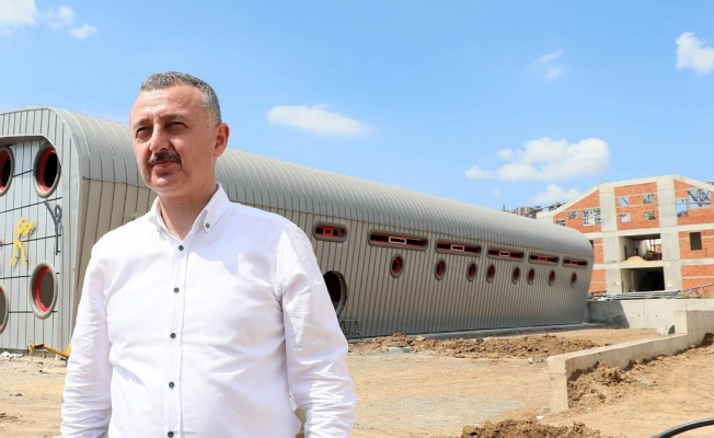 """Başkan Büyükakın,'Gebze'de spora 50 milyonluk yatırım yapıyoruz"""""""