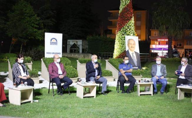 Gebze'de uyuşturucu ile mücadele toplantısı