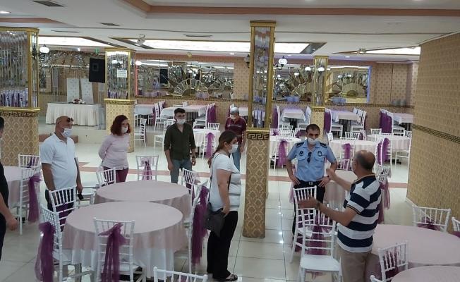 Gebze'de düğün salonları denetleniyor
