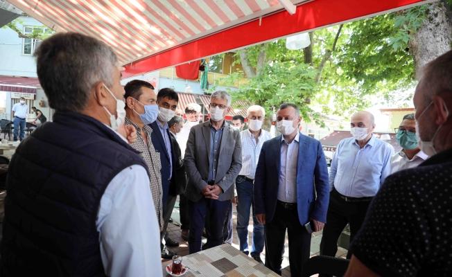 Başkan, Çerkeşli köyünü ziyaret etti