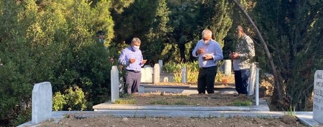 Başkan mezarlıkları denetledi