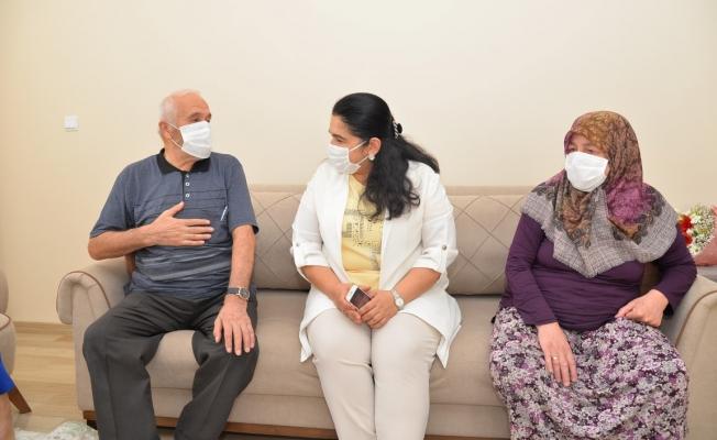 Vali Seddar Yavuz'un Eşi Selda Yavuz; Şehit Yakınları ve Gazilerimizi Yalnız Bırakmadı