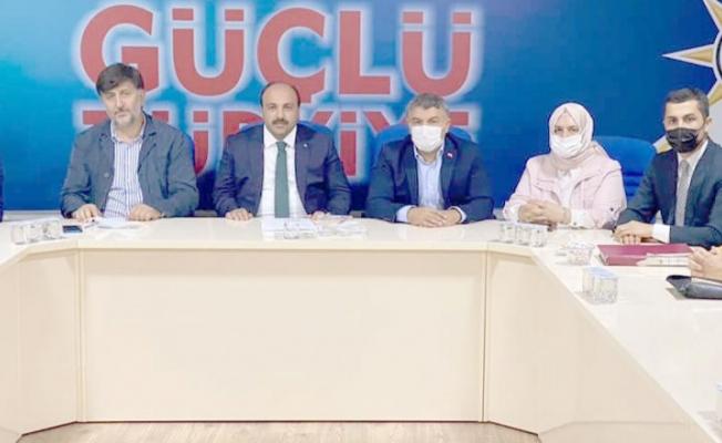 AK Parti Dilovasında icra kurulu tamam