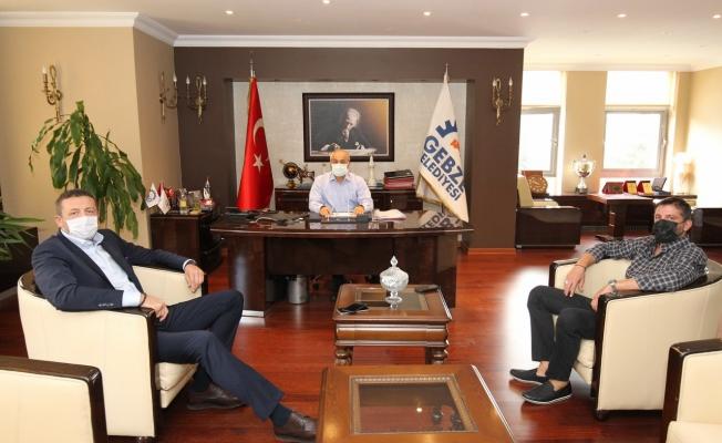 Başkan Büyükgöz Türkoğlu ve Tunçeri'yi Ağırladı