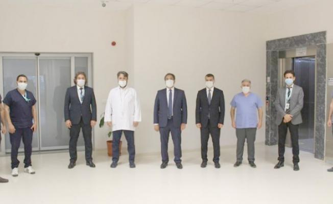 Kaymakam Güler'den Hastane ziyareti