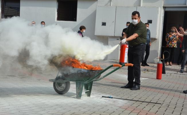 Kültür Turizmde Yangın tatbikatı