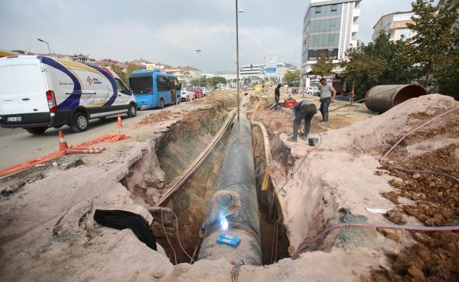 Gebze'deki 20 milyonluk projede hummalı çalışma