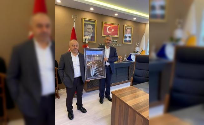 Ali Kemal Aydın'dan, Kaya'ya 'Hayırlı Olsun' ziyareti