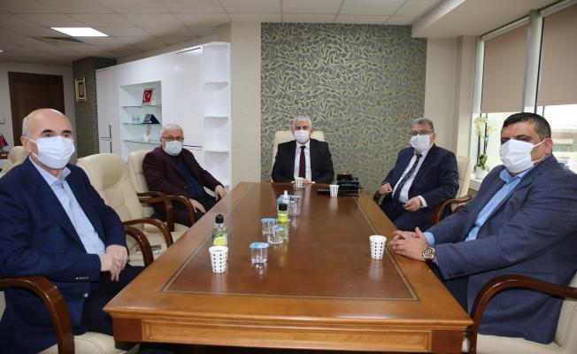 Büyükşehir Koordinatörleri Balamir Gündoğdu başkanlığında toplandı