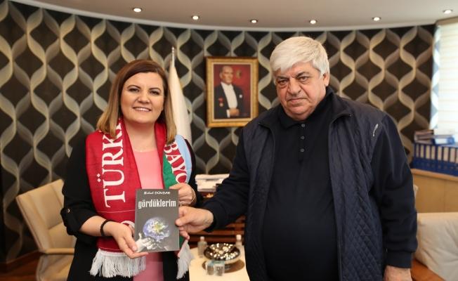 Başkan Hürriyet'e Azerbaycan'dan   teşekkür ziyareti