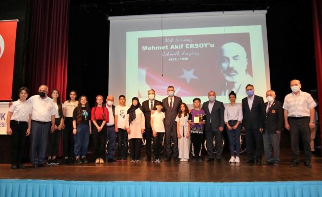 'Mehmet Akif'e Mektup Var' Yarışması Ödül Töreni Gerçekleştirildi