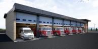 İtfaiye Terminal Müfrezesi yeni binası yapımı sürüyor