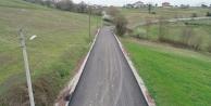 Kandıra'da köy yolları yenilendi