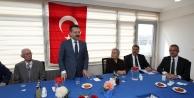 Vali Aksoy ve Başkan Köşker'den Huzur...