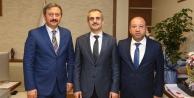 Yaman ve Yılmaz'dan Başkan Çiftçi'ye Ziyaret