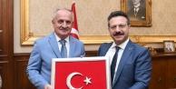 Aygün'den Vali Aksoy'a ziyaret