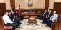 BİK ve KOGACE Yönetimlerinden Vali Aksoy'a Ziyaret