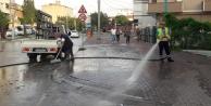 Darıca'da Selden Sonra Temizlik Çalışması