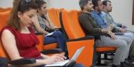 Gazetecilere KO-MEK'te medya eğitimi