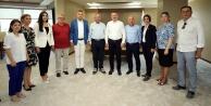 Başkan Büyükakın, CHP İl Yönetimini konuk etti