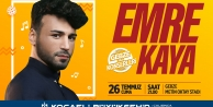 Gebze'de Emre Kaya konseri 26 Temmuz'da!