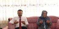 Vali Aksoy, Şehit Mustafa Kılıç'ın Ailesini Ziyaret Etti