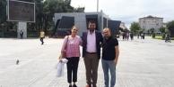 Gebze'den deprem eğitimi ve yürüyüşü